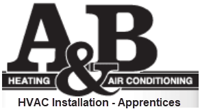 A&B Heating and Air Conditioning HVAC Installation Apprentices