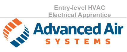 Advanced Air Systems Entry Level HVAC Electrical Apprentice Thatcher, Arizona
