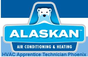 Alaskan HVAC Apprentice Technician Phoenix Tempe, AZ