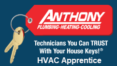 Anthony Plumbing Heating Cooling HVAC Apprentice