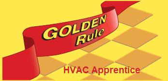 Golden Rule HVAC Apprentice