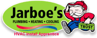 Jarboes Plumbing Heating Cooling HVAC Install Apprentice