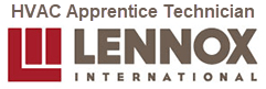 Lennox International HVAC Apprentice Technician Little Rock, AR