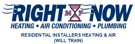 Right Now Heating and Air Conditioning Residential Installers Will Train