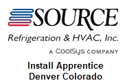 Source Refrigeration Denver Colorado Install Apprentice