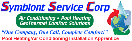 Symbiont Service Corp Pool Heating Air Conditioning Installation Apprentice