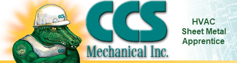 CCS Mechanical HVAC Sheet Metal Apprentice